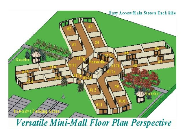 Group of Pin Mall Floor Plans