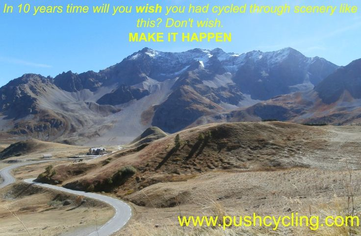 www.pushcycling.com has information and tools to help you achieve your dreams of cycling in France. Sign up to get the latest news and tips