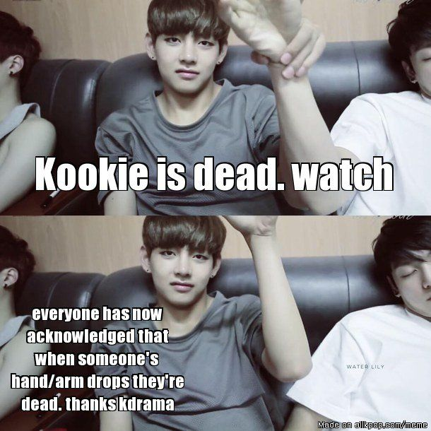 BTS V be like... | It's what the kdrama's taught us!
