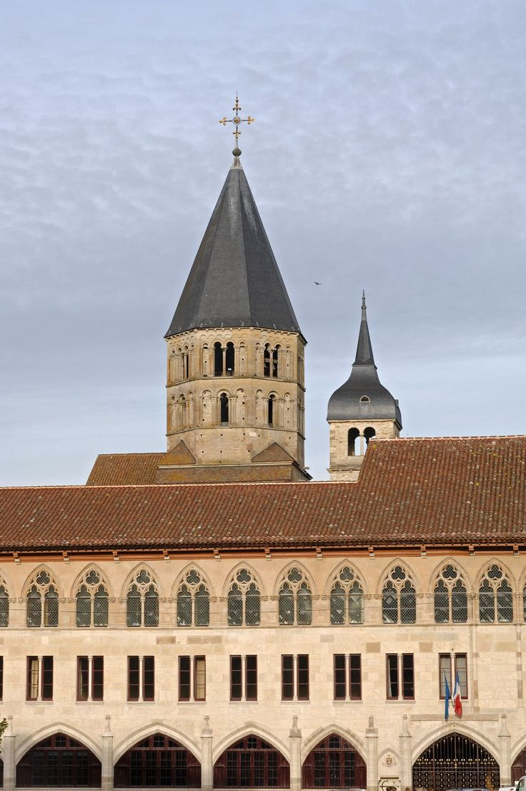 Abbaye de Cluny © Philippe Berthé CMN, Paris