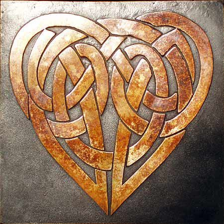 "kenzotrufi: ""Celtic heart. """