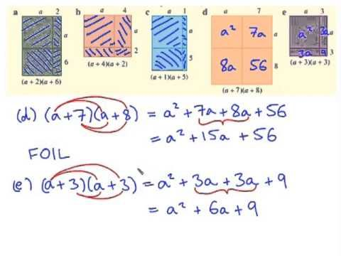 Expanding binomial products - YouTube