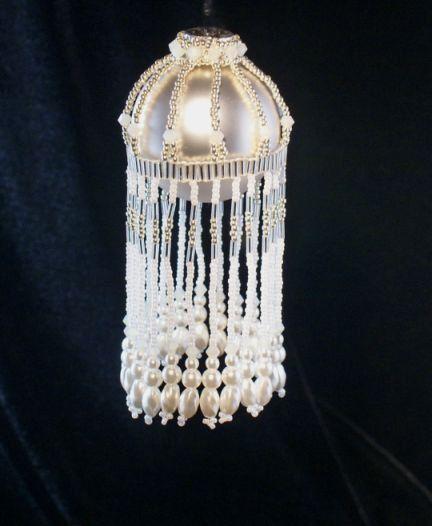 The Cascade Small Beaded Ornament Cover от TheOrnamentalLady