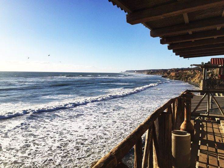 Rosarito, Mexico is a beach town very close to the U.S.-Mexican border. #rosarito #mexico #mexicotravel #tropicaldestination #wanderlust
