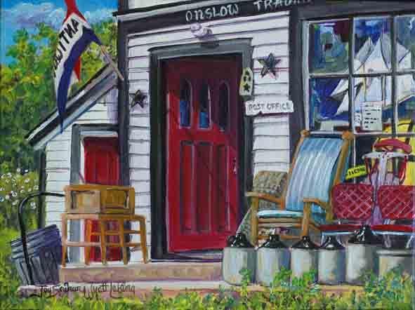Great Village Antique Shop   Joy Laking Gallery