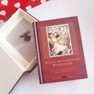 Alice in Wonderland Günlük (Bordo)