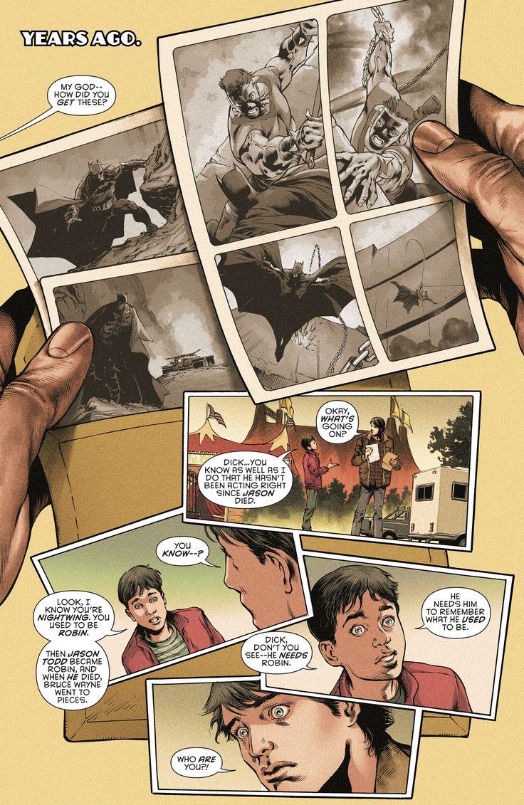 Tim  Drake and Dick Grayson. Batman, Detective comics 965