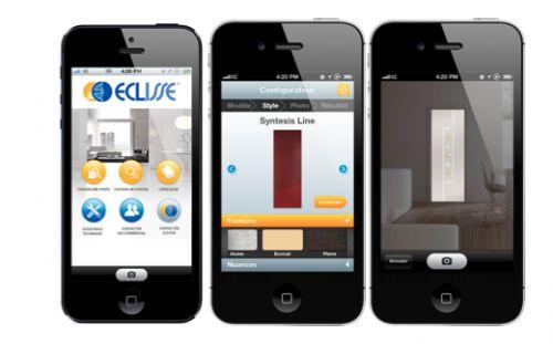 Eclisse, l'application Iphone pour les portes coulissantes | Designiz - Blog décoration intérieure, design & architecture