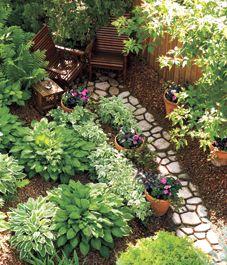Shade Gardens....Hostas