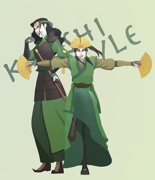 The Last Airbender Avatar Kyoshi: 15 Best Suki/Kyoshi Warrior Images On Pinterest