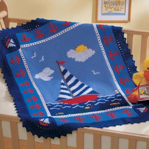 Sail Away Afghan Free Download Crochet Baby Blankets #8 ...