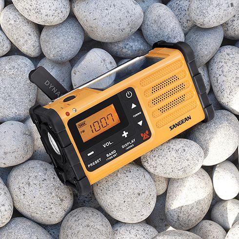 자갈밭의 MMR-88 자가발전 디지털 라디오