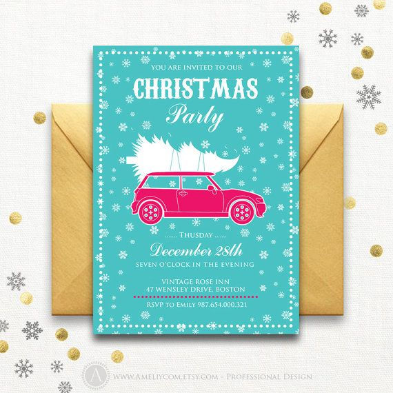 The 25+ best Christmas party invitation template ideas on Pinterest - corporate party invitation template