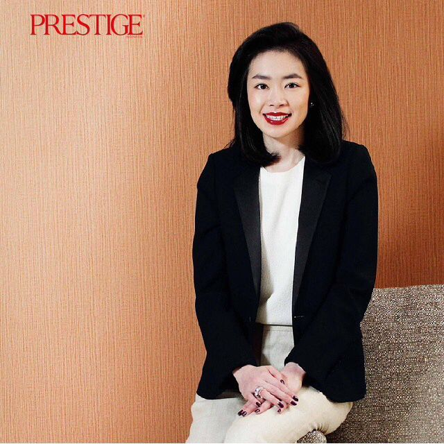 The woman behind iROO Indonesia & Shoppe33, Ms. Jacqueline Tanaga is featured in the latest Prestige Indonesia magazine