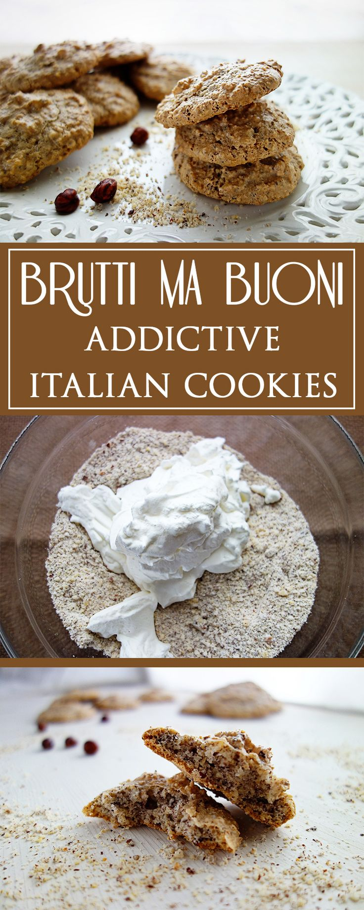 Brutti ma Buoni - addictive italian cookies - here you can find the simple, incredibly delicious recipe for this little sin made in Italy! 🍪🇮🇹❤️ | cucina-con-amore.de