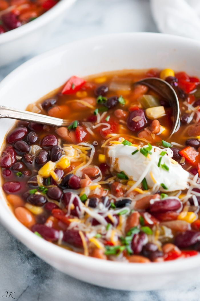 Vegetarian chili recipes no beans