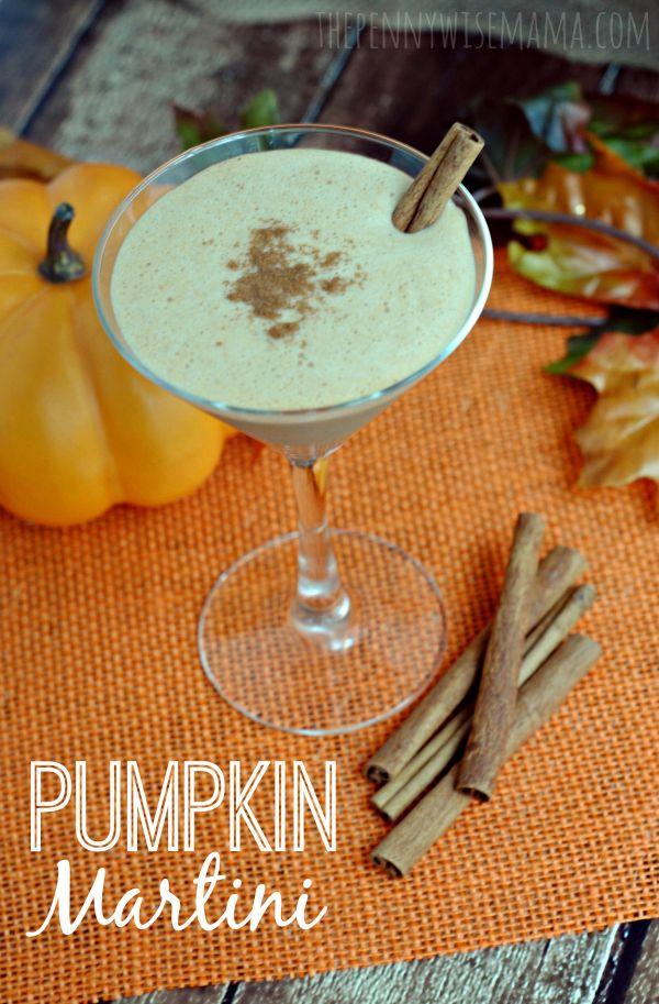 Pumpkin Martini Recipe