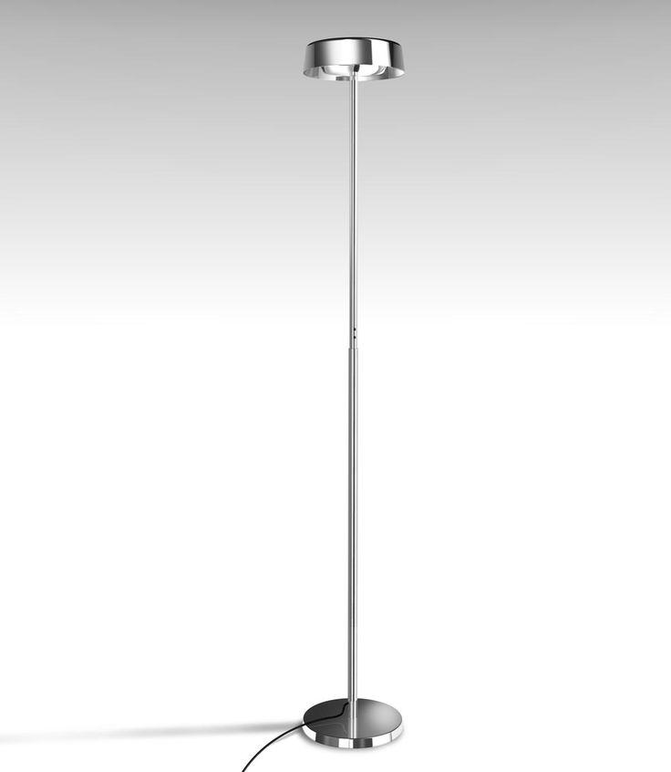 Lámpara de pie cromo NOA - La Casa de la Lámpara