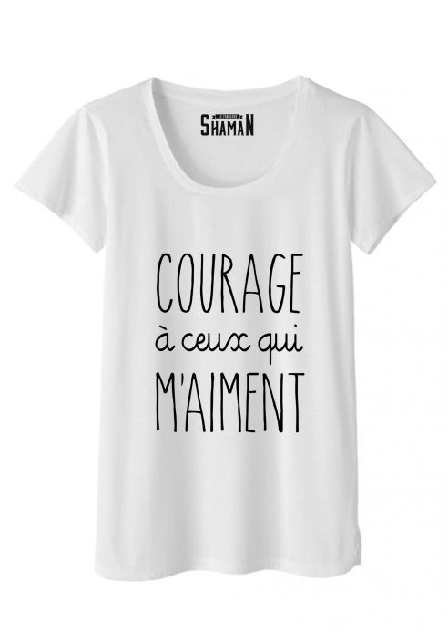 "T-shirt ""Courage"""