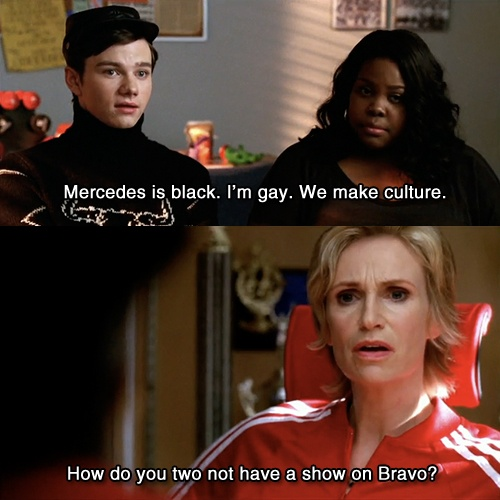 #glee This so hilarious because I remember watching this episode with @Christina Helton and us saying it for a week straight