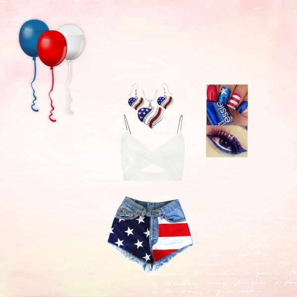4th of July by reedbethanie on Polyvore featuring polyvore, fashion, style and River Island