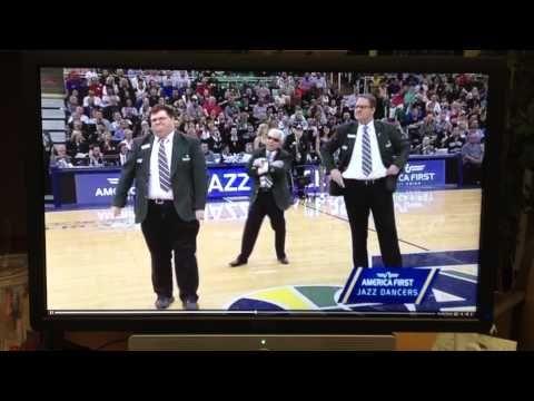Ushers Dance with Utah Jazz Dancers April 2014 Energy Solutions Arena - http://nbajerseygirls.com/ushers-dance-with-utah-jazz-dancers-april-2014-energy-solutions-arena/