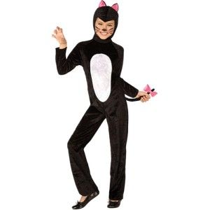 cat costumes for girls   Details about Black Cat Child Costume Girls Kids Dress Up Halloween ...