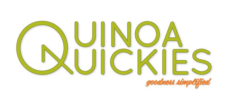 """Our brand and logo. . . The name Quinoa Quickies was chosen to differentiate ourselves from the countless other brands that focus simply on the """"natural"""", """"historic"""" or """"health"""" qualities of quinoa. Although we respect and promote these attributes greatly, we wanted our customers to know that we bring a simplicity and quickness to the cooking process that is reflected not only in our name but in the clock-like characteristics of our logo."""