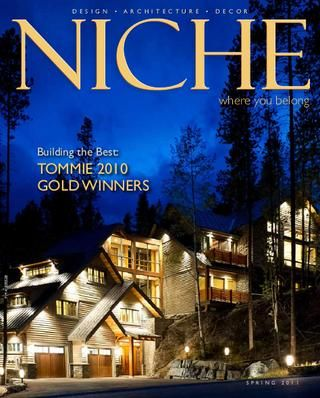 This magazine has some of the best built homes in the Okanagan, great ideas for decorating, building or renovating! This cover home is simply unbelievable! http://issuu.com/okbisexaminer/docs/niche_spring_2011_low_res