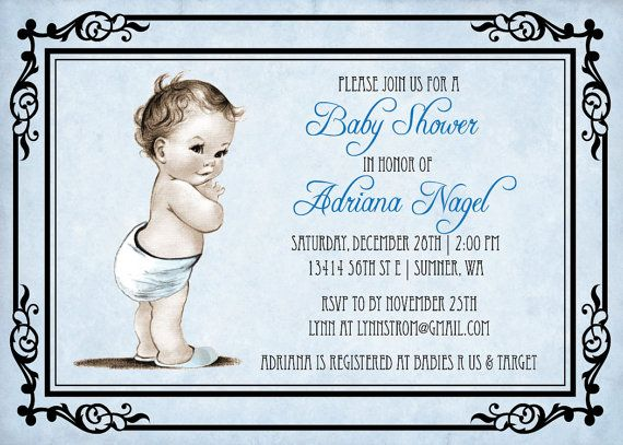 33 best images about baby shower invitations for baby boy on, Baby shower invitations