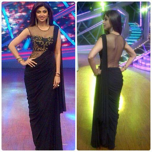 Shilpa Shetty Wearing Sonaakshi Raaj
