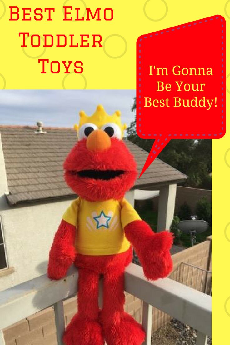 Best Elmo toys for toddlers features the top learning toys for toddlers!