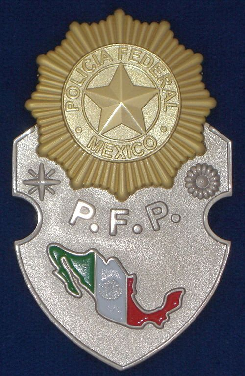 about Mexico Policia Federal Badge ( PFP ) # Federal police badge ...