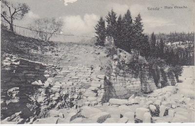 Modesto Modi Postcard - Fiesole - 20 - Mura Etrusche
