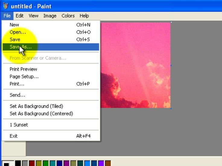 how to make a dot in microsoft paint
