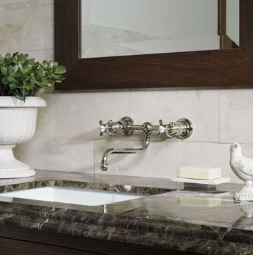 From concrete to travertine and the lovely materials in between  one of these bathroom countertops are sure to inspire a bathroom remodel. 1000  ideas about Painting Bathroom Countertops on Pinterest