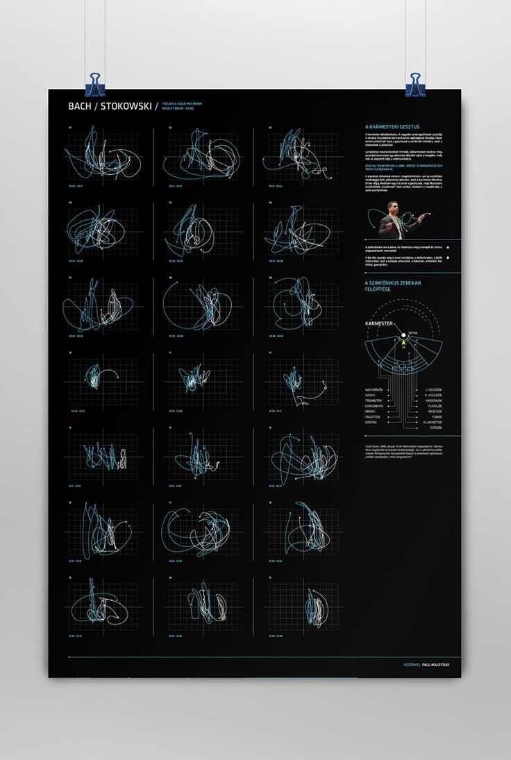 THE CONDUCTOR'S GESTURE - DATA VISUALIZATION by Hidden Characters, Hungary