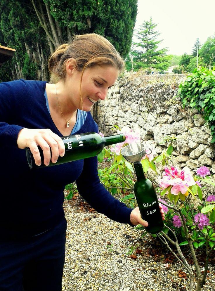 """""""Mis en bouteille au château"""" blog château de Chantegrive"""