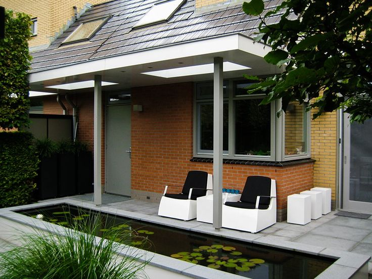 17 best images about 030b overkapping cowling on pinterest gardens verandas and trash bins - Kleine design lounge ...