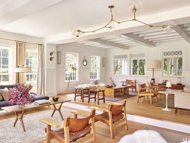 See Pilar Guzmán And Chris Mitchellu0027s Stunning Renovation Of Their East  Hampton, New York Home
