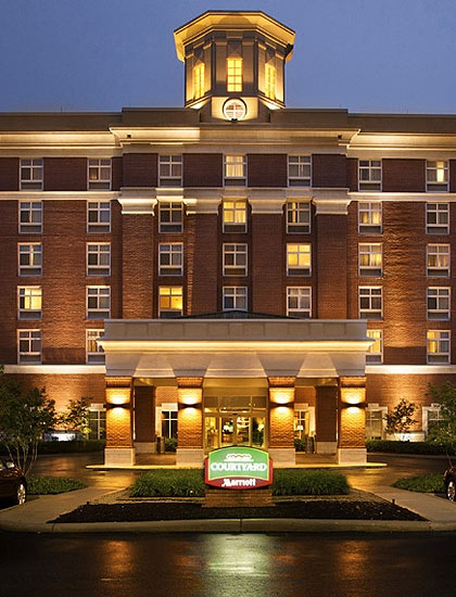 Courtyard Marriott Columbus Easton Oh Only Stayed Here One Night But It