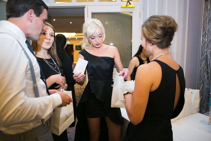 Helen George from Call the Midwife receives her goody bag!