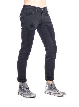 Dondup clothing pant men Spring/Summer 2016 Converse All Star vintage style