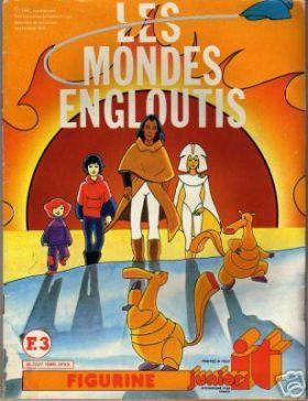 Les Mondes Engloutis - Arkana, Bob et Rebecca, Spartakus et Bic et Bac