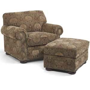 overstuffed chairs and ottomans Chair, ottoman