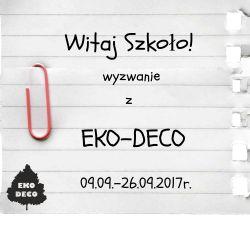 banerek Witaj Szkoło