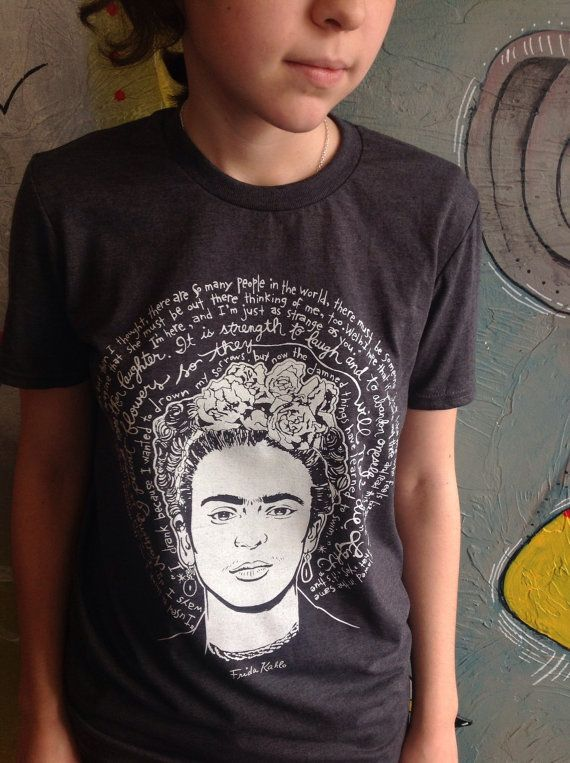 Saint Frida the Fierce-Frida Kahlo Artist Saint T Shirt