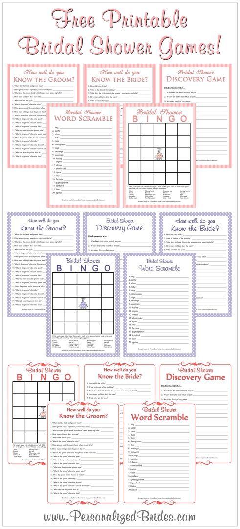 121 best images about printable charts templates forms for Templates for bridal shower games