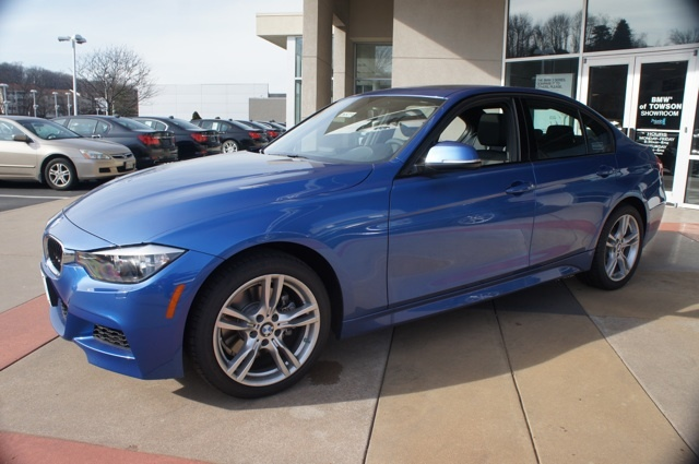 2013 Bmw 328i Xdrive Sport Line In Estoril Blue