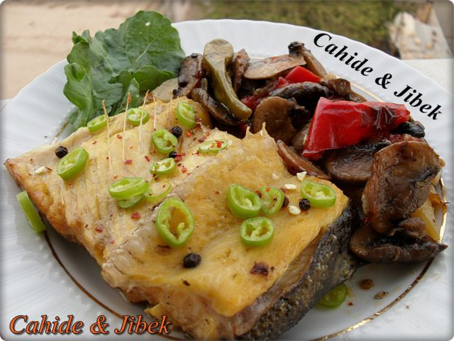 Mantarlı somon balığı